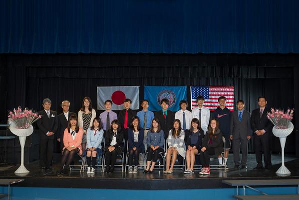 2014年度中高部入学式集合写真