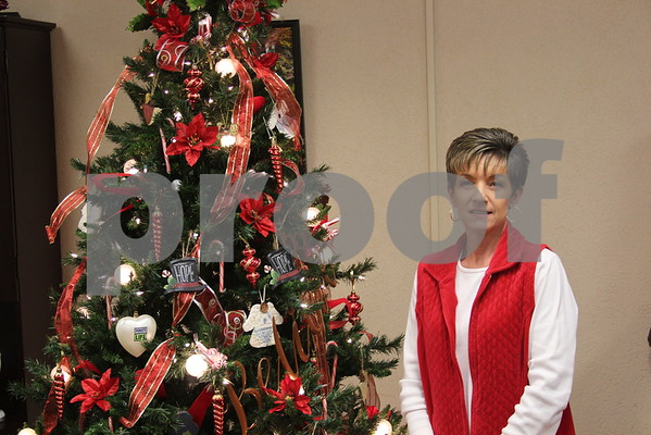 County Clerk's Tree of Hope - December 2014