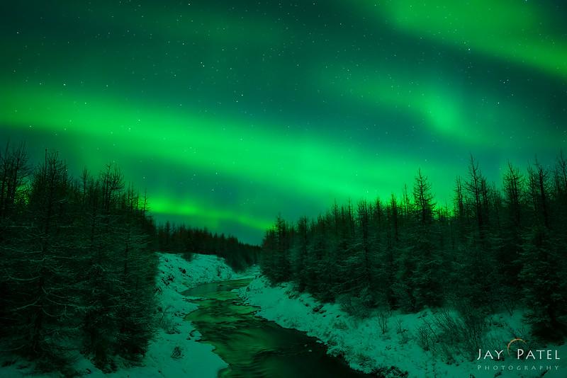 Northern Lights, Egilsstaðir, Iceland
