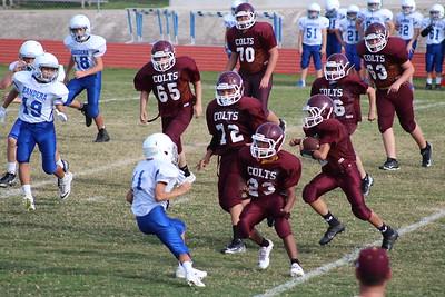7th Grade Colts vs Bandera Sept 27