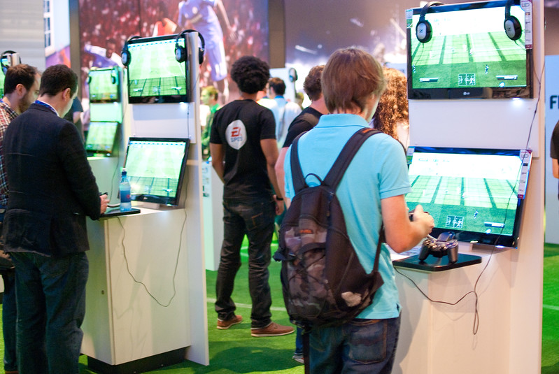 FIFA 12 at GamesCom 2011