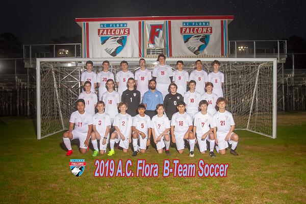2019 Boys Soccer  B-Team