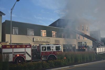 3-alarm Building Fire - 51 Pratt St., Meriden, CT - 7/04/21