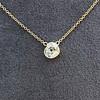 1.02ct Antique Heart Diamond Bezel Pendant 4