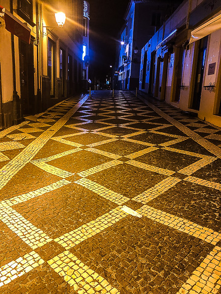 Beautiful tile sidewalks everywhere