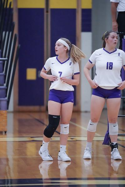 Richardson High School Volleyball vs Duncanville