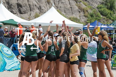 2017 Cal Poly Beach Volleyball Big West Tournament Day 1
