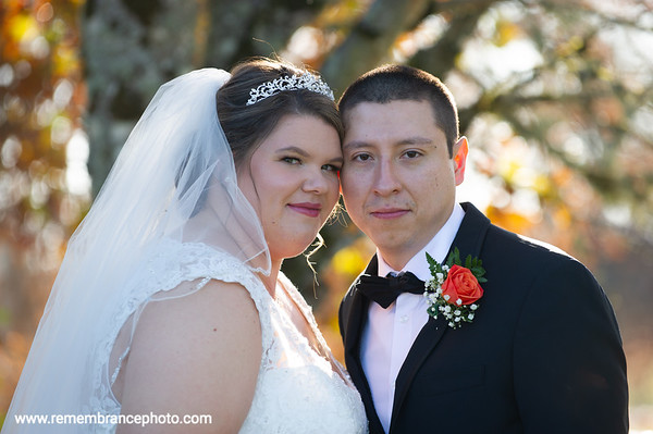 Ashley & Hector, Pumpkin Ridge, Nov. 2
