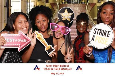 2019-05-17 Allen HS Track & Field Banquet