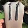 4.50ctw Art Deco Conversion Dangle Earrings 12