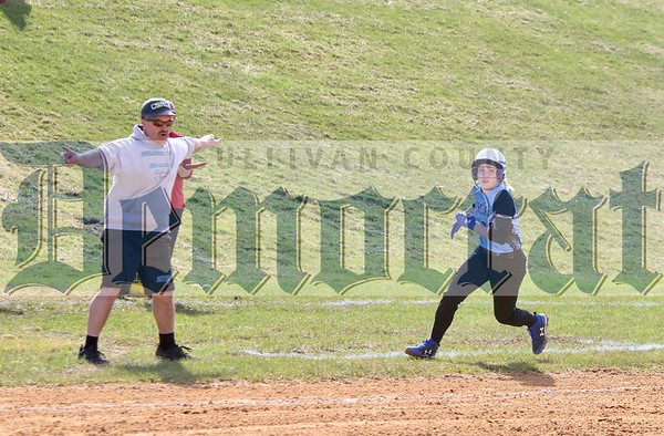 Liberty vs Sullivan West softball