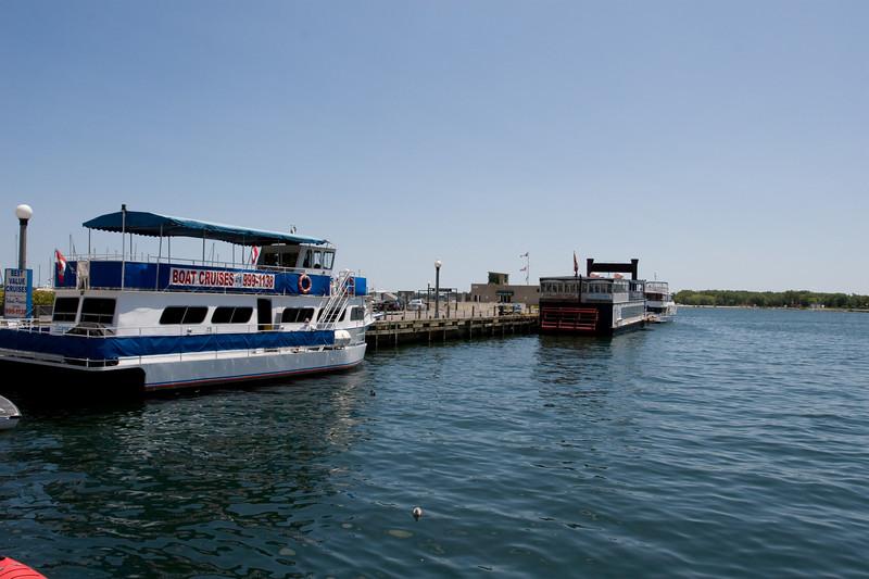 Boats At Marina Quay