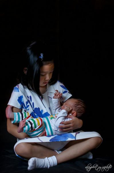 Baby Malakai & Ate Mackenzie