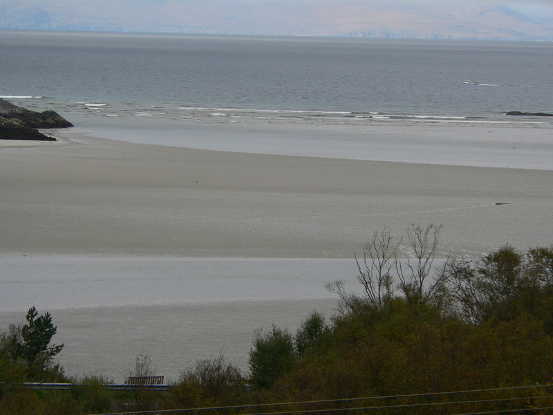 White sand beaches of Morar
