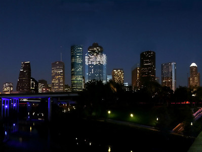 Houston, Texas :  Skylines, Theaters, Architecture
