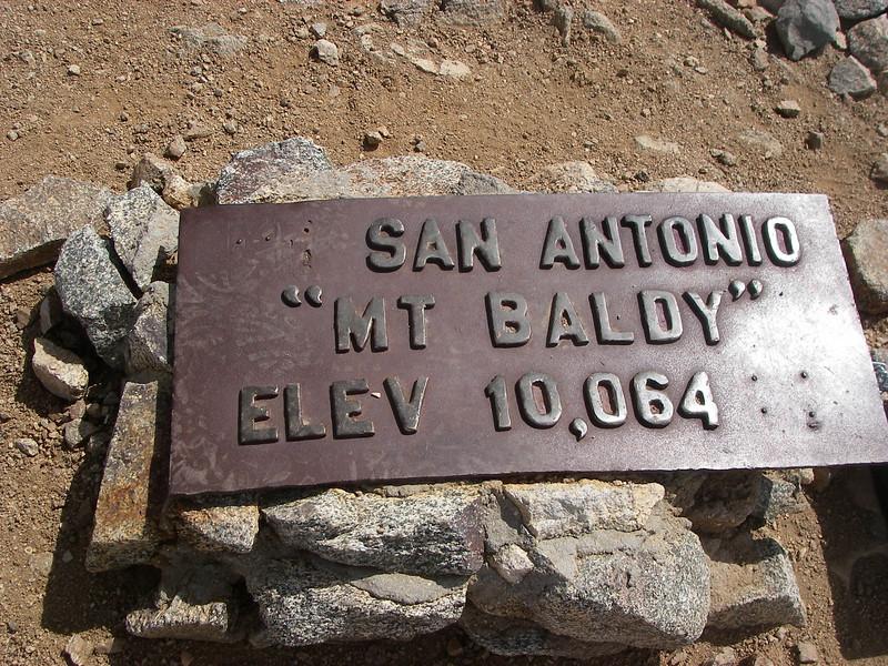 Mount San Antonio or Mount Baldy