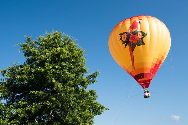 2017 Hudson Valley hot air balloon festival