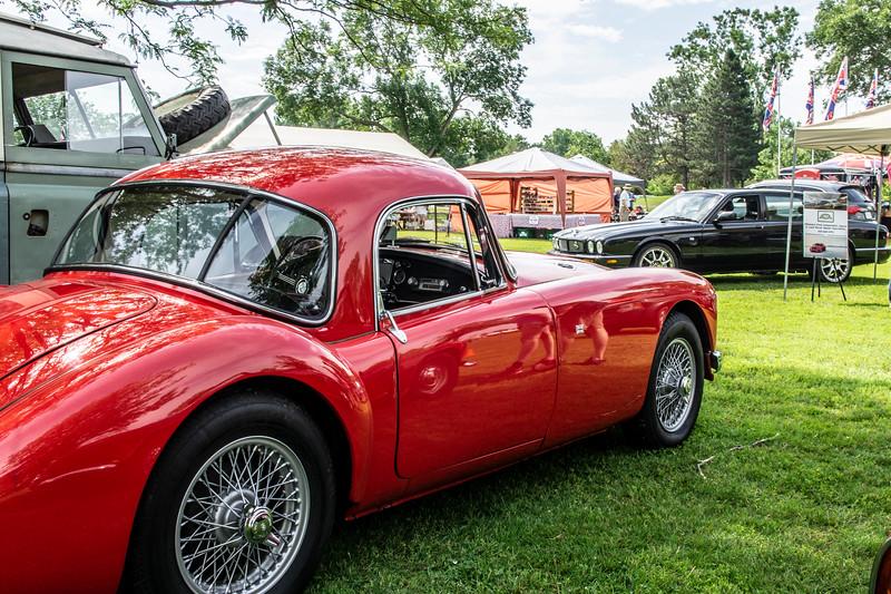 1957 MG MGA Coupe