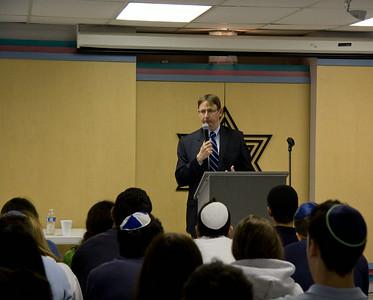 Israel Deputy Ambassador to the UN visits Hillel
