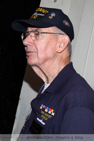 Our tour guide is Bill Calahan, former Air Force officer.