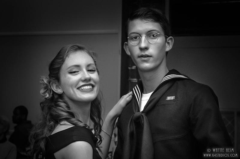 Dance Partners    Black & White Photography by  Wayne Heim
