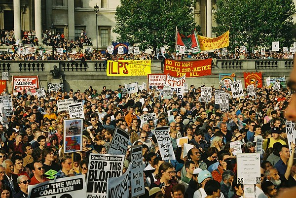 Stop the War Coalition /CND National Demo - October 2001
