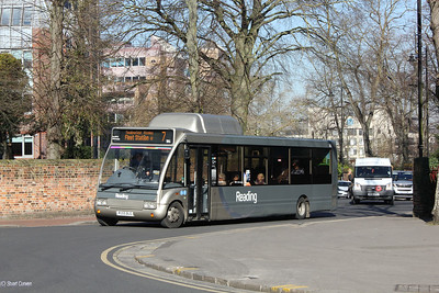 186, RG55BUS, Reading Buses, The Forbury