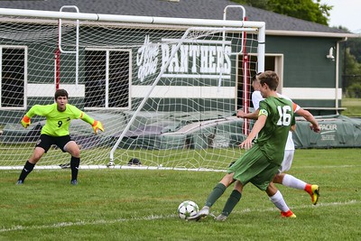 Steindl's hat trick leads EC boys over Brookside