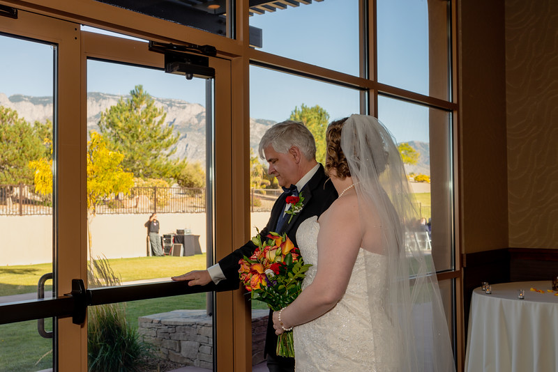 Sandia Hotel Casino New Mexico October Wedding Ceremony C&C-64.jpg