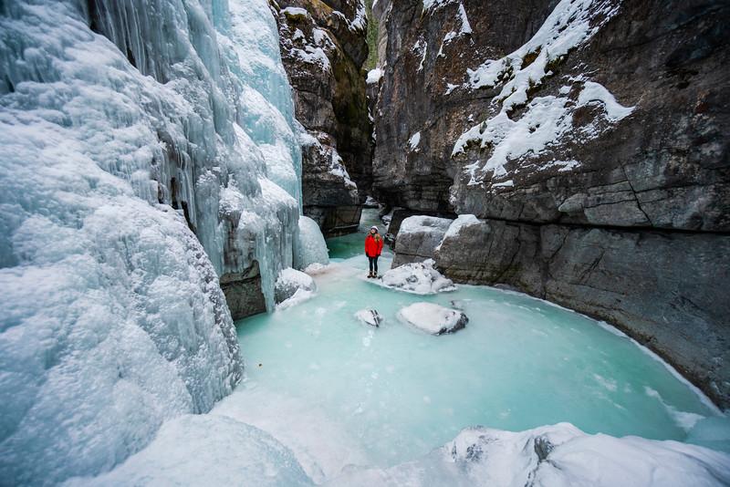 Jasper Alberta February 2021