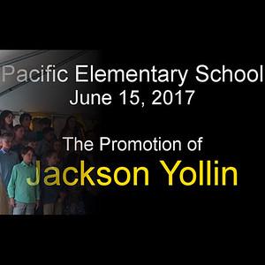Jackson Yollin 5th Grade Promotion