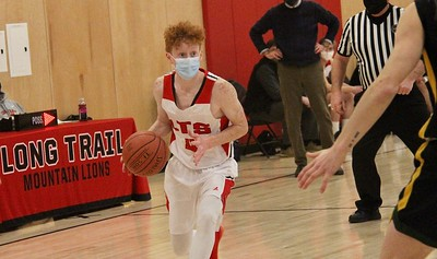 LTS Boys Varsity Basketball vs GM II photos by Gary Baker