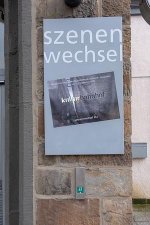 Ausstellung ANBLICK-DURCHBLICK-AUSBLICK  im Kulturbahnhof Kreuztal 2018