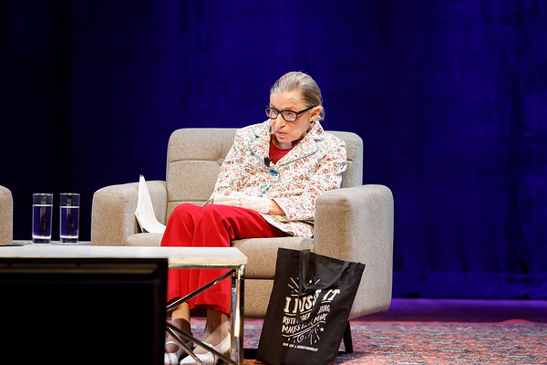 9/12: A Conversation with U.S. Supreme Court Justice Ruth Bader Ginsburg, moderated by California Supreme Court Justice Goodwin H. Liu