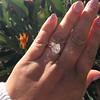 2.01ct Antique Pear Shape Diamond GIA G VS1 15
