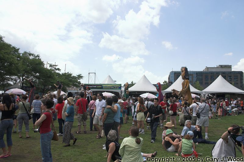 Canada Day festivities at Harbourfront