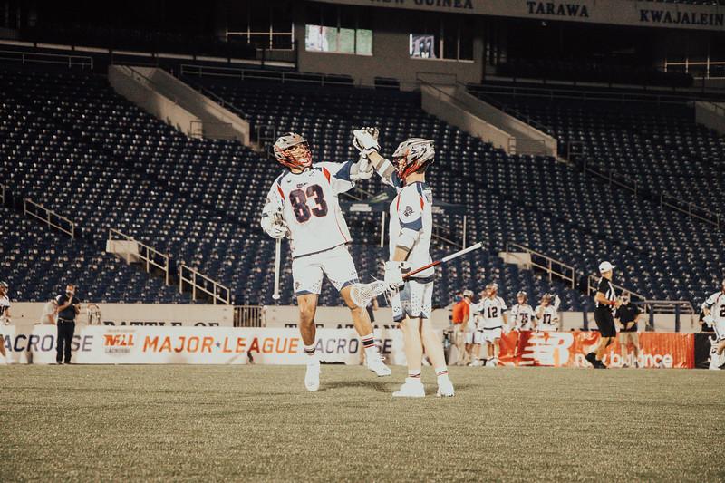 7/20/2020; Annapolis, MD, USA; Bayhawks vs Cannons - at Navy Marine Corps Memorial Stadium. Mandatory Photography Credit: Jamal Cooley
