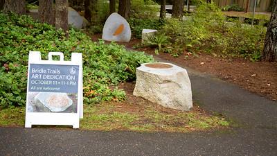 Bridle Trails public art dedication October 11