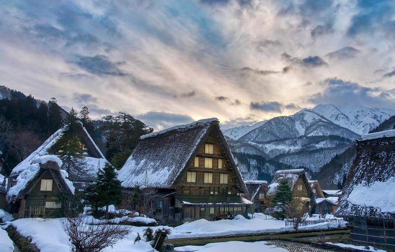 Snowy Fantasyland in Japan