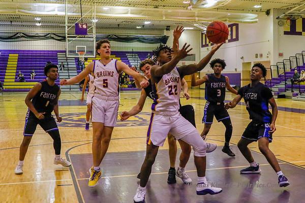Boys Varsity Basketball v Fairfax 2/4/20
