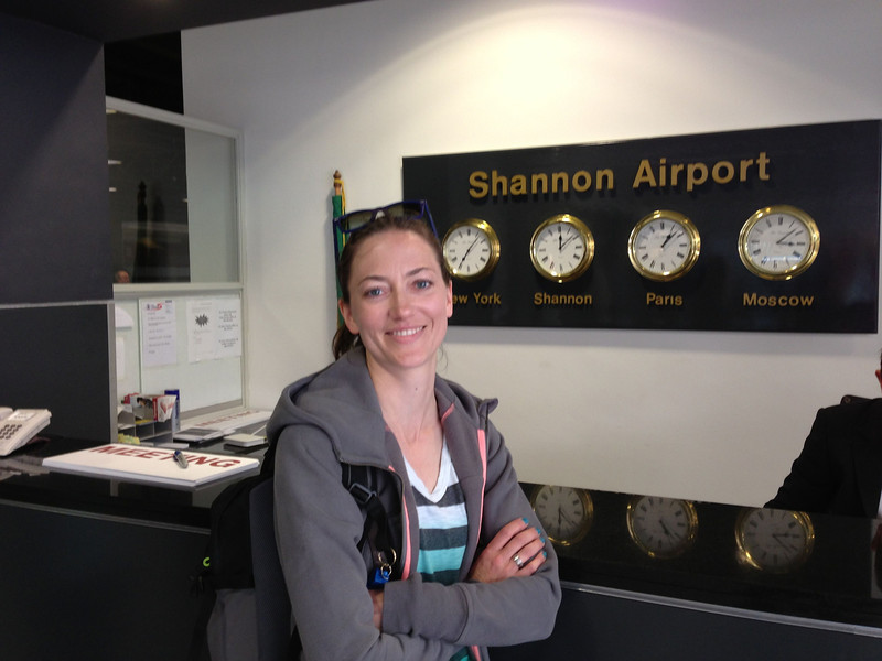 Shannon at Shannon