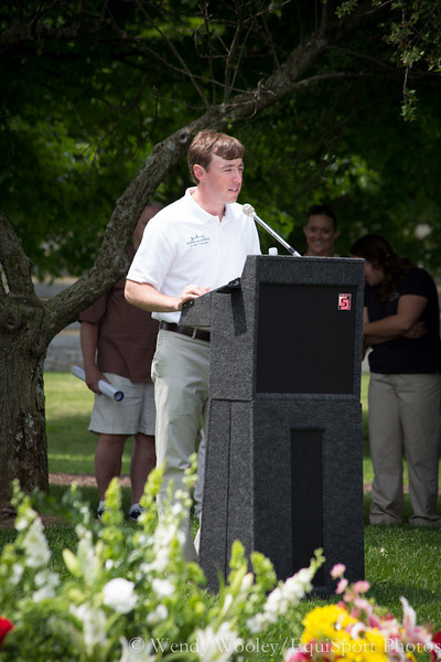 Case Clay speaking at the Dynaformer memorial