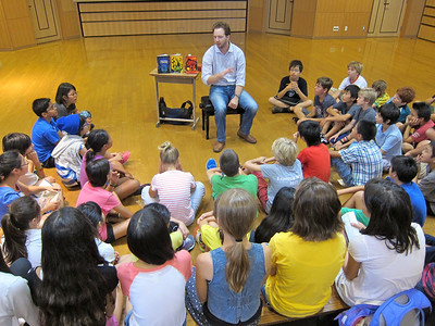 2013 Grade 6 Visiting Author Adam Gidwitz