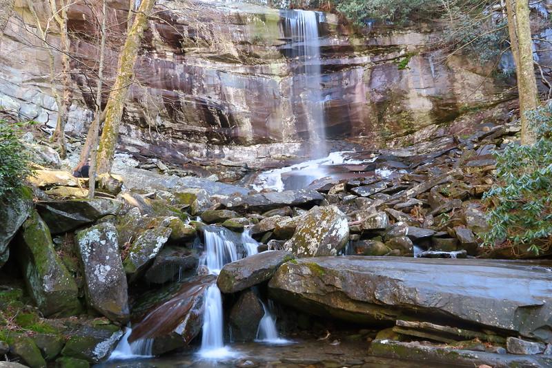 Rainbow Falls (5.4 miles; d=8.52)