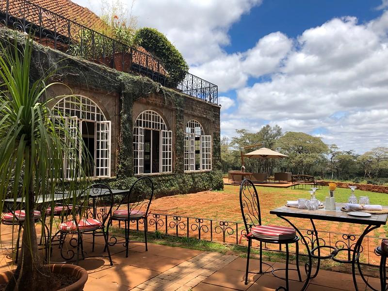 Giraffe Manor. Karen, Nairobi