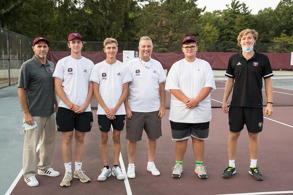 Bears Tennis Senior Night