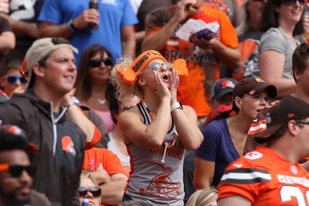 . Tim Phillis - The News-Herald The Browns lost to the Jets, 17-14, on Oct. 8.