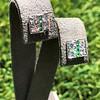 Art Deco Diamond and Emerald Disc Earrings 45