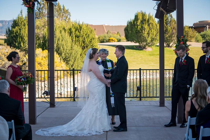 Sandia Hotel Casino New Mexico October Wedding Ceremony C&C-47.jpg