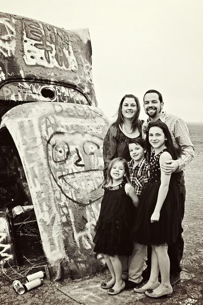 Parrott Family Portraits